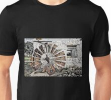 Stone Cottage and Windmill Unisex T-Shirt