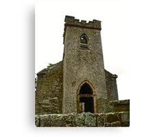 St. Columbe's Church, Clonmany, Donegal, Ireland Canvas Print