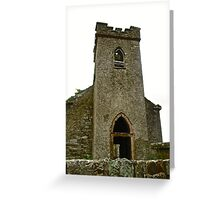 St. Columbe's Church, Clonmany, Donegal, Ireland Greeting Card