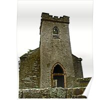 St. Columbe's Church, Clonmany, Donegal, Ireland Poster