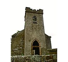 St. Columbe's Church, Clonmany, Donegal, Ireland Photographic Print