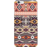 Ethnic print vector pattern background iPhone Case/Skin