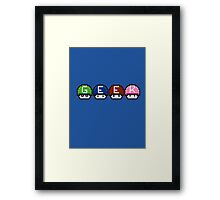 Geek Name Framed Print