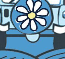 Life Is Good Blue Sticker