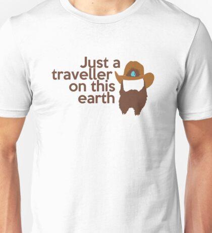 Just a traveller Unisex T-Shirt