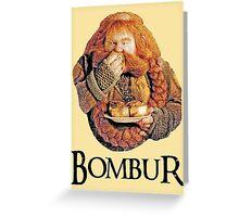 Bombur Portrait Greeting Card