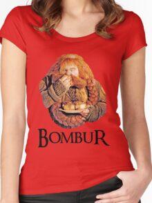 Bombur Portrait Women's Fitted Scoop T-Shirt