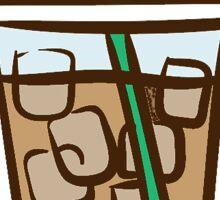 Iced Coffee #2 Sticker