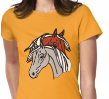 HORSES T-SHIRT Womens Fitted T-Shirt