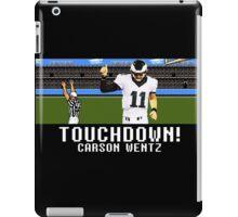 Tecmo Bowl Carson Wentz iPad Case/Skin