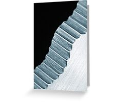 Knife Edge Stairs Greeting Card