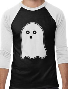 Cute Ghost Men's Baseball ¾ T-Shirt