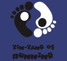 Yin & Yang of running | with text by Lin Da