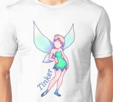 Tinkerbell Colorful (Neat) Unisex T-Shirt