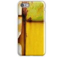 Abstract View Of A Truck Door iPhone Case/Skin