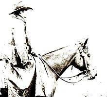 A Cowboy in Dorrigo by Clare Colins