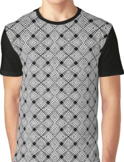 Black and white pattern Graphic T-Shirt