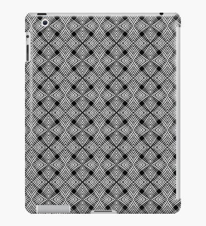 Black and white pattern iPad Case/Skin