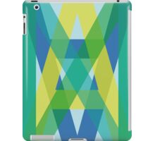 Letters Crossover (Green) iPad Case/Skin