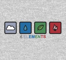 4 Elements One Piece - Long Sleeve