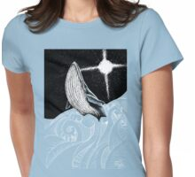 The Holy Whale Womens Fitted T-Shirt