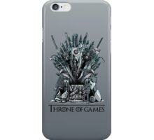 Throne of Games - You Win Or You Die iPhone Case/Skin