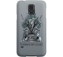 Throne of Games - You Win Or You Die Samsung Galaxy Case/Skin