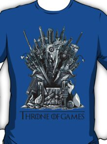 Throne of Games - You Win Or You Die T-Shirt