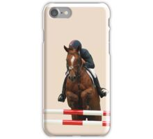 Show Jumping iPhone Case/Skin