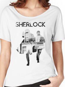 Monochrome Street Sherlock Women's Relaxed Fit T-Shirt