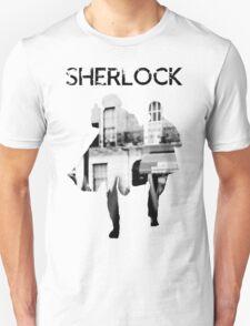 Monochrome Street Sherlock T-Shirt