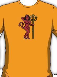 Pixel Devil Girl T-Shirt