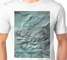 Russian Arctic Clouds and Ice Satellite Image Unisex T-Shirt