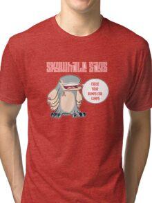 Skywhale Pinkribbon Tri-blend T-Shirt