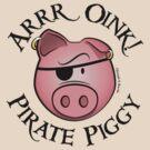 Pirate Piggy by JoesGiantRobots
