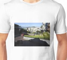 Traveling Down Lombard Street Unisex T-Shirt