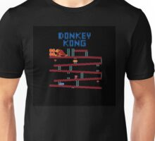 Donkey Kong the classic Nintendo arcade and console game Unisex T-Shirt