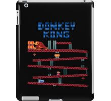 Donkey Kong the classic Nintendo arcade and console game iPad Case/Skin