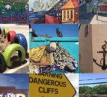 Street Art around the world Sticker