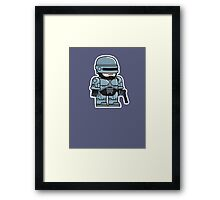 Mitesized Robocop Framed Print