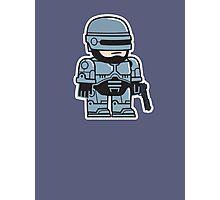 Mitesized Robocop Photographic Print