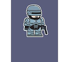 Mitesized Robocop Photographic Print