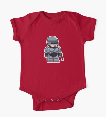 Mitesized Robocop One Piece - Short Sleeve