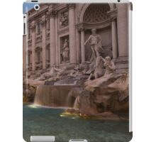 Rome's Fabulous Fountains - Trevi Fountain at Dawn iPad Case/Skin