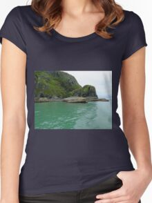 Cardigan Coastline Women's Fitted Scoop T-Shirt