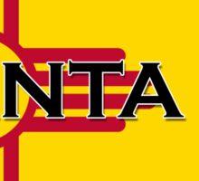 Beautiful Santa Fe New Mexico, Land of Enchantment - Zia Sticker