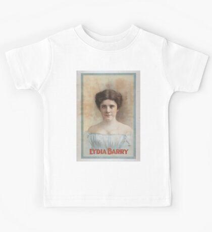 Performing Arts Posters Lydia Barry 0386 Kids Tee