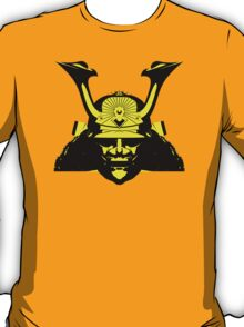 Kabuto graphic in yellow and black T-Shirt
