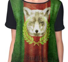 House of Nuallán Coat of Arms Chiffon Top