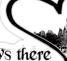 Always at Disney World (in your heart) Sticker